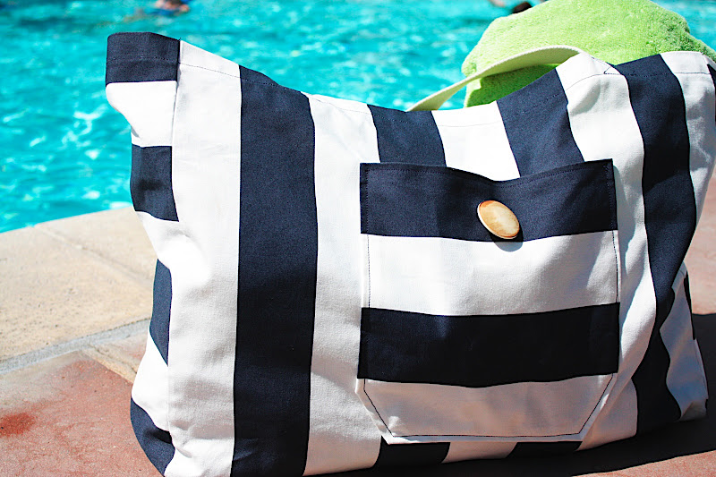 Canvas Beach Bag - 9 Beautiful Travel Bags to Make ... …