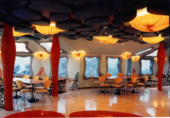 The Red Sea Star Underwater Bar, Restaurant and Observatory –Israel