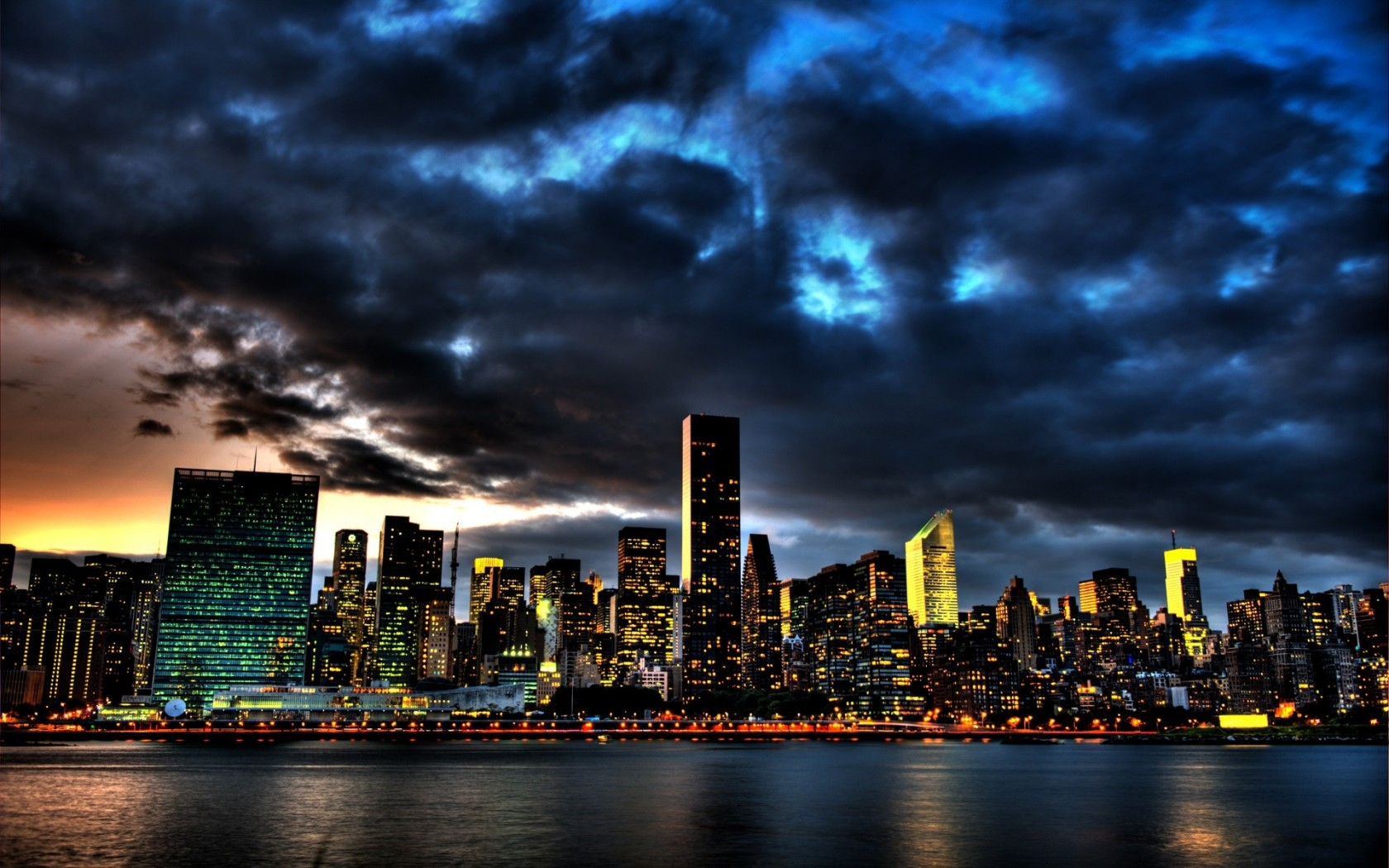 new york at night - photo #6
