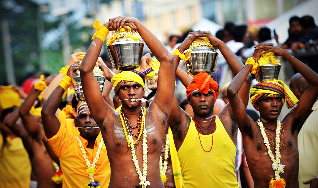 Watch the Thaipusam in Penang