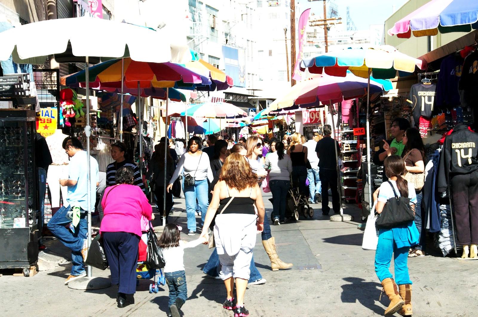 La la fashion district - Fashion District Downtown Los Angeles