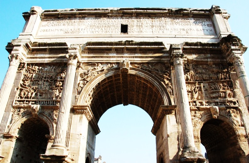 The Arch of Septimius Severus - 7 Wonders of Rome You've ...