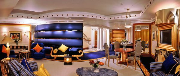 royal suite, burj al arab, dubai - 8 of the world's most expensive…