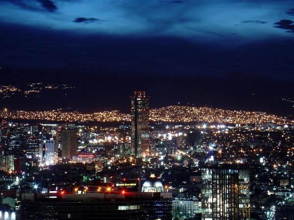 Mexico City Santa Fe Altitude