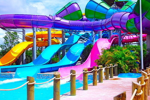water slide repair