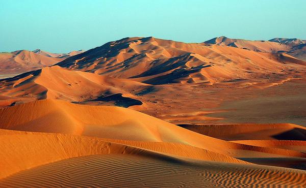 Rub al khali arabian peninsula 8 truly amazing natural wonders rub al khali arabian peninsula sciox Images