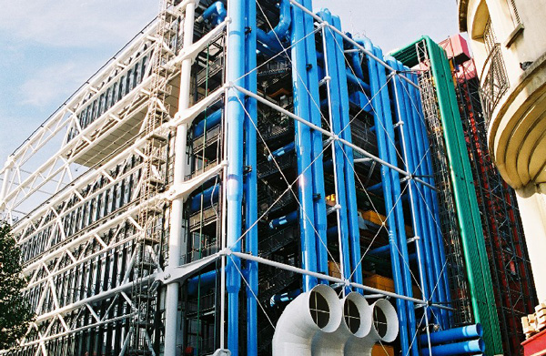Visit the pompidou centre in paris france 31 things to - Centre george pompidou architecture ...