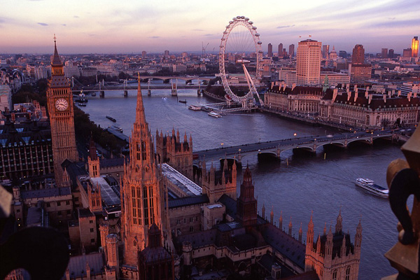 Take a Trip on the London Eye in England