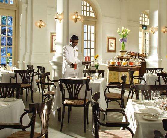 Tiffin Room, Raffles Hotel, Singapore