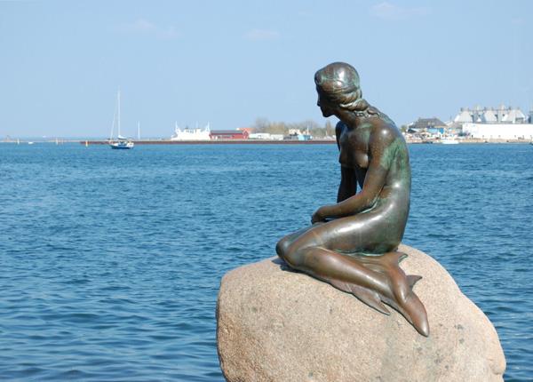 See the Little Mermaid in Copenhagen, Denmark