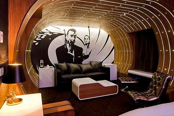 the james bond suite 9 over the top and wacky hotel
