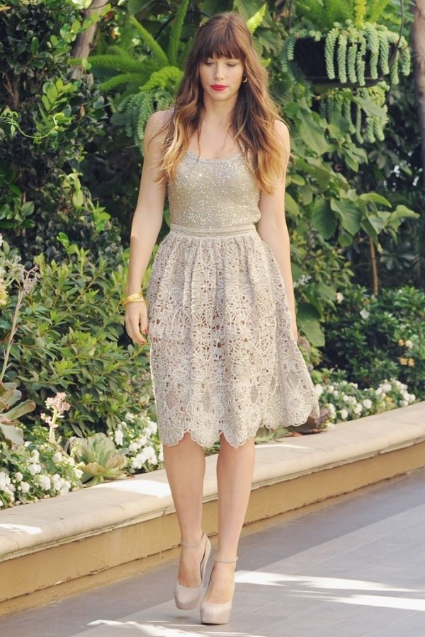 Jessica Biel Has Really Stepped Up Her A Game Fashion Wise And Some Truly Enviable Summer Street