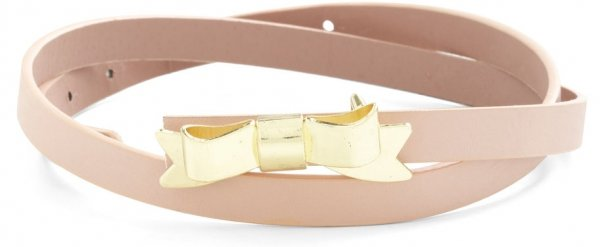 Tied with a Bow Belt in Rose Quartz by Modcloth
