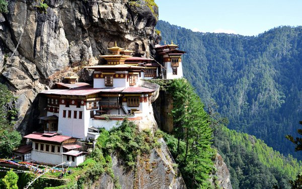 Snuggle into Your Tiger's Nest at Paro Taktsang Monastery, Bhutan
