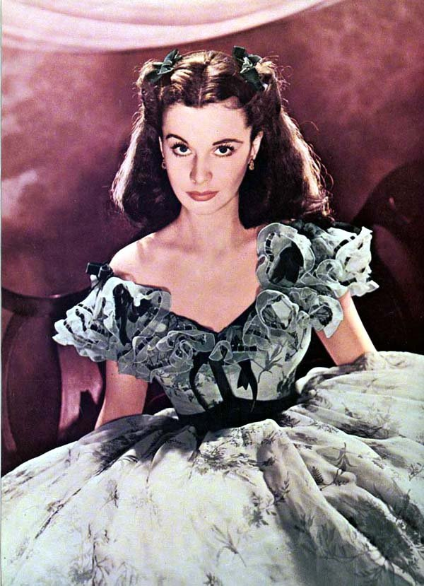 Scarlett o hara gone with the wind fierce female anti for Who played scarlett in gone with the wind