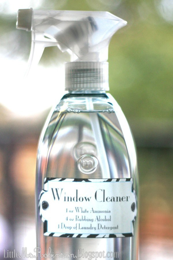 Use Window Cleaner