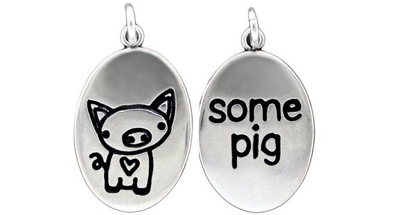 Some Pig Necklace