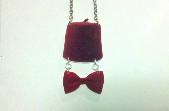 11th Doctor Charm Necklace
