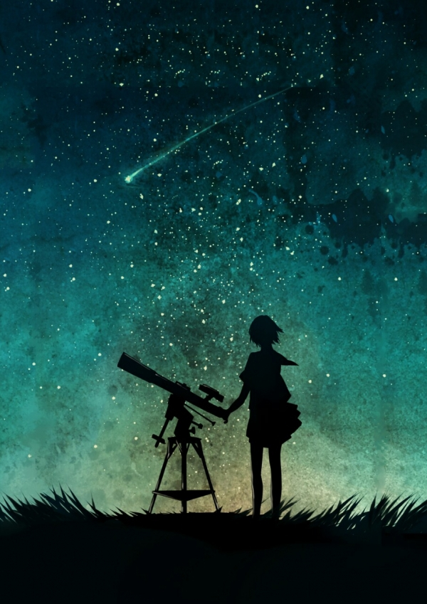 39 Anime Here S A Little Stargazing Inspo To Make Your