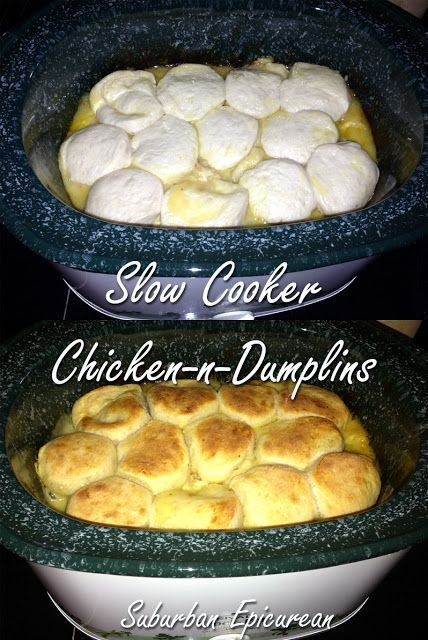 Slow Cooker Chicken and Dumplings - Create These Crockpot Meals …