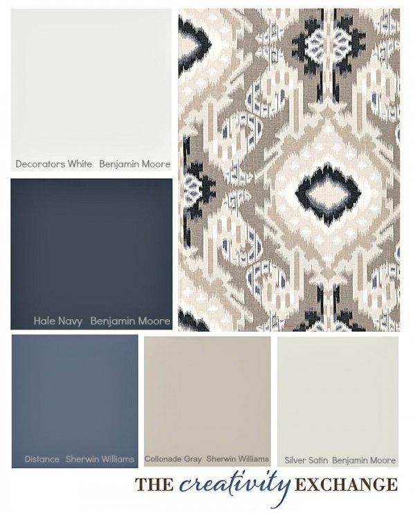 Grey + Blue
