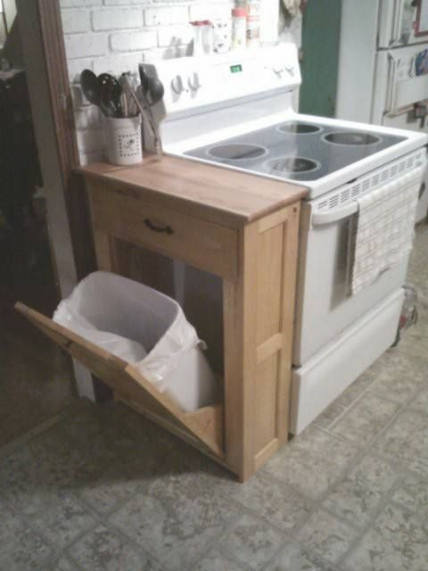 Good Cool Hidden Trash Can Kitchen Islands That Must Be Part Of Youru With Kitchen  Trash Can.