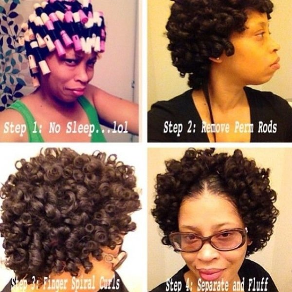 Cutest Rod Set Fro 67 Crushworthy Natural Hair Ideas From