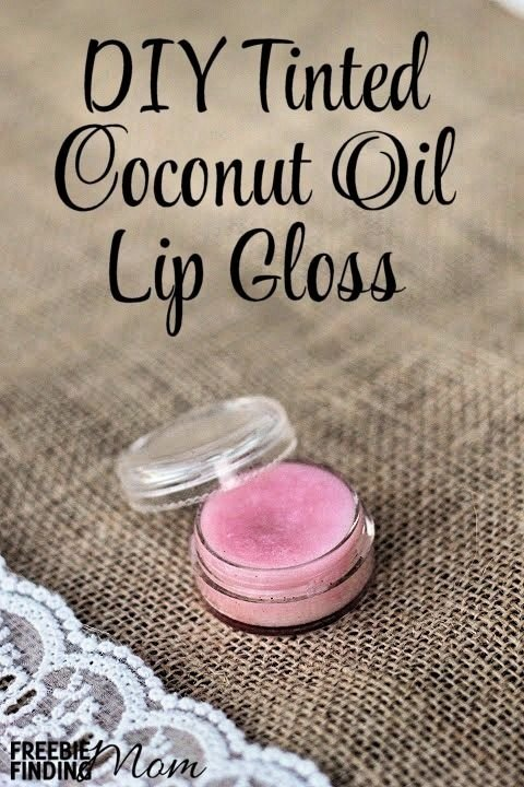 Tinted Coconut Oil Lip Gloss