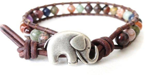 Hipster Elephant Bracelet
