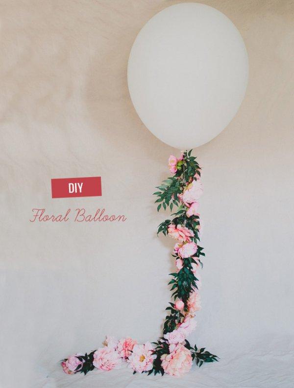Floral Balloon