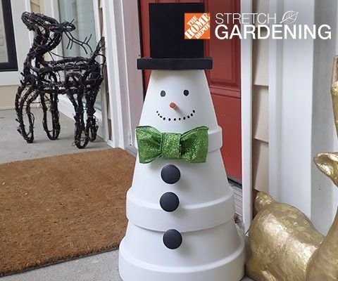 Flower Pot Snowman 37 Snowman Crafts That Don T Need