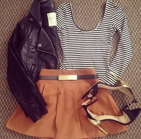 Tan and Stripes