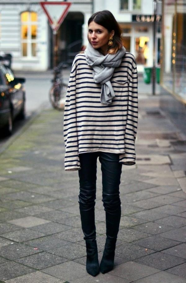 5 Stripe Tastic 39 Fabulous French Street Style Looks
