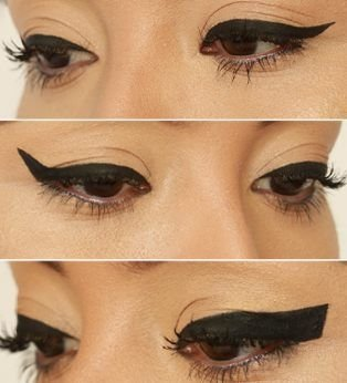 Thick Winged Eyeliner