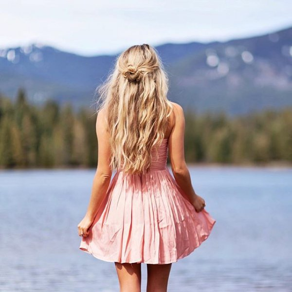 clothing, hairstyle, dress, spring, photo shoot,