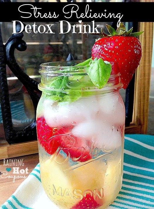 Stress Relieving Detox Drink