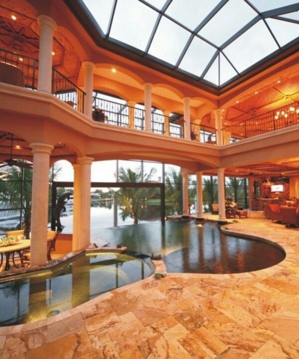 Beautiful Design With Indoor Pool 59 Gorgeous Dream
