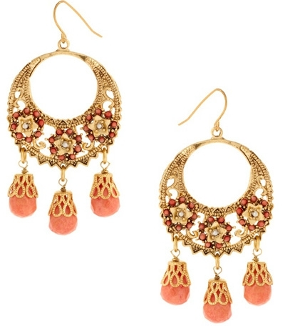 Talullah Tu Multi Bead Chandelier Earrings
