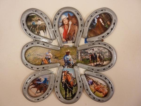 35 horseshoe collage 37 horseshoe crafts to try your for Horseshoe christmas art