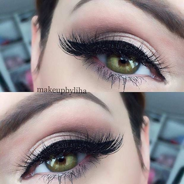 31 Pretty Eye Makeup Looks For Green Eyes Community