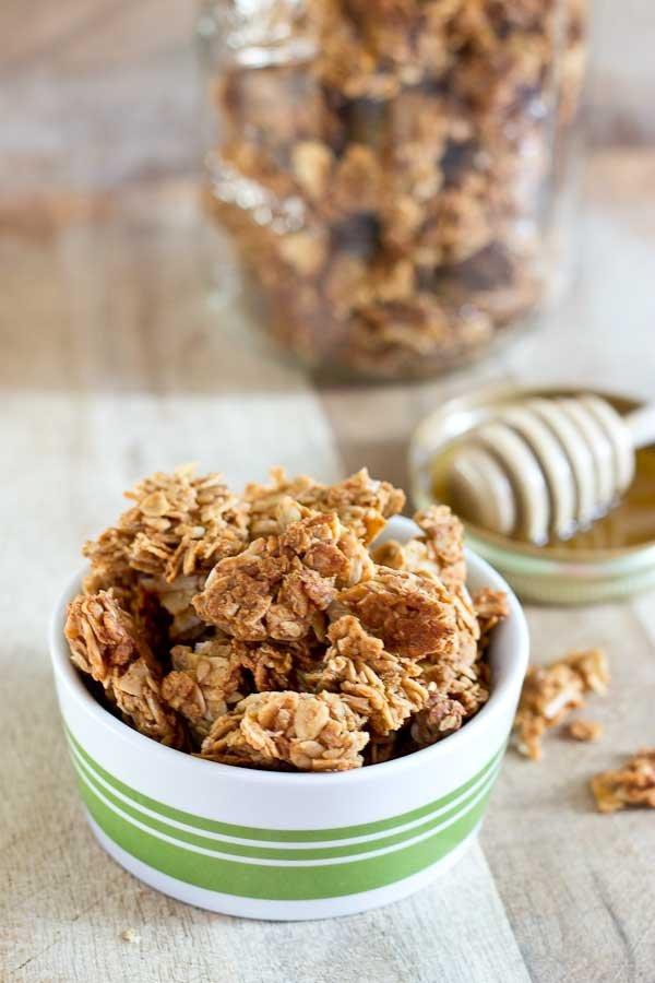 PB Oats & Honey Granola