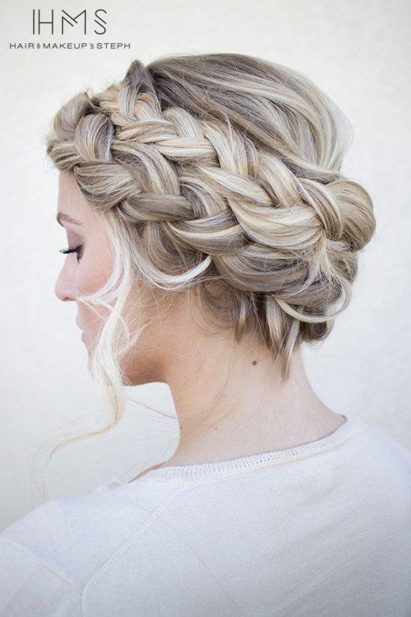 Easy hair updo tutorials