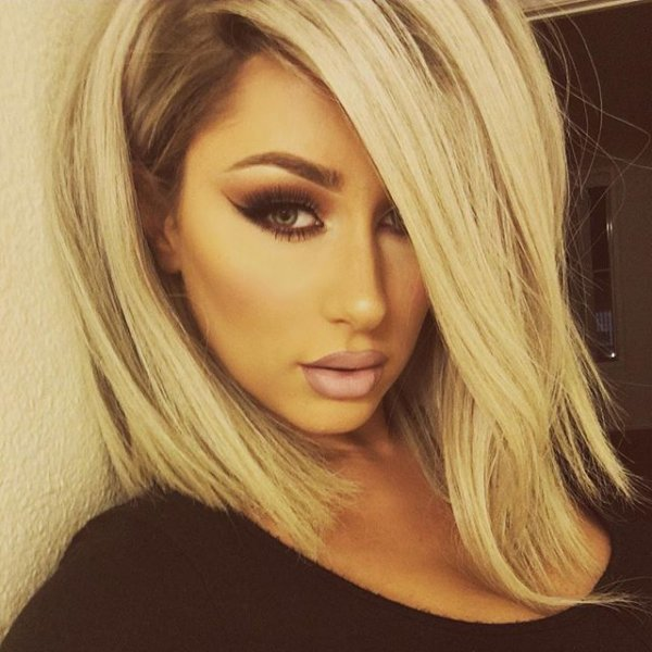 blond, hair, color, hairstyle, woman,