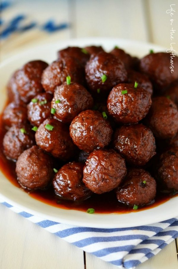 Crock Pot Grape Jelly Meatballs - Yummy in a Hurry: 3 Ingredient…