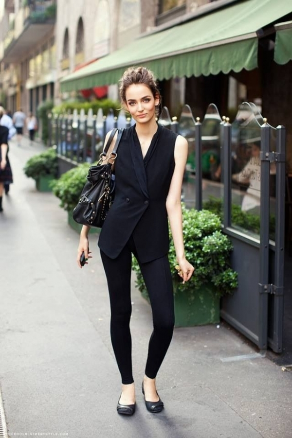17 Back To Black 39 Fabulous French Street Style Looks