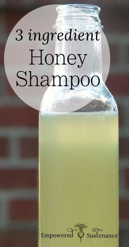 DIY Honey Shampoo