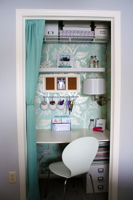 Carve out a Nook in an Unused Closet