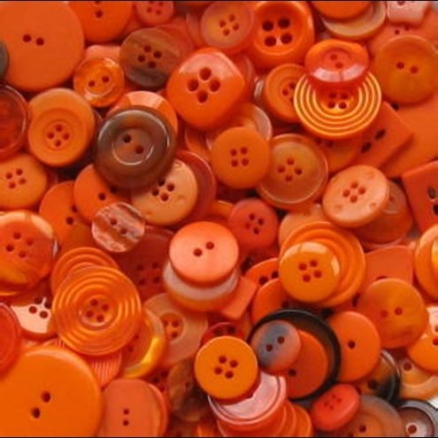Orange buttons 56 orange things to prove it 39 s an for Orange colour things