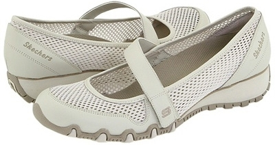 Skechers Go Step Mesh Ballet Slip On Shoes Luxe  Wide
