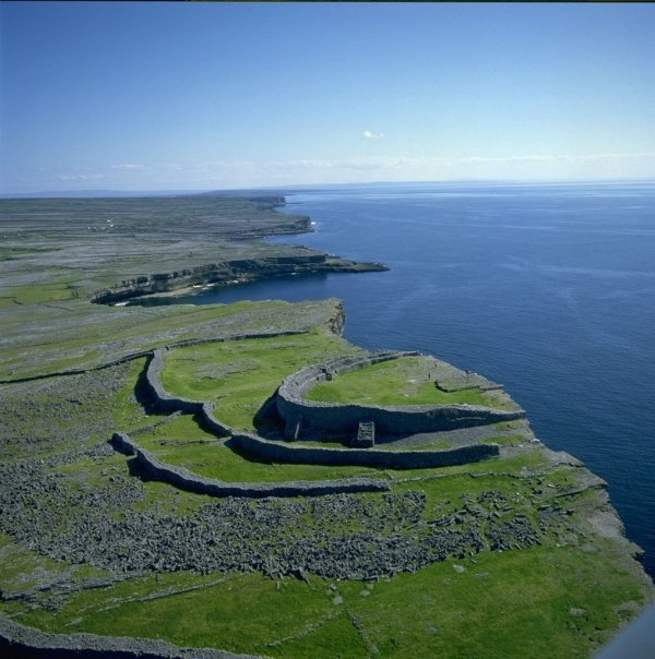 Get on Your Bike to Visit Dún Aonghasa (Iron Age Fortress) in the Aran Islands, Ireland